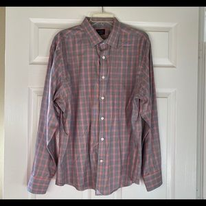 UNTUCKit long sleeve plaid shirt